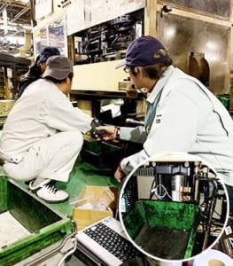 工場内の製造状況をIoTで数値化し業務改善